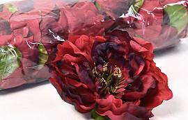 Pivoine D13cm Rouge