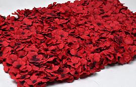 Flower Panel 60x40cm Red