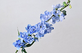 Delphinium Spray Blue 91cm