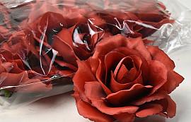 Rose D11cm Rouge Foncé