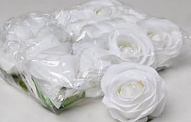 Rose D9cm White