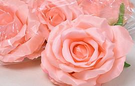 Rose Satin D10cm Pink