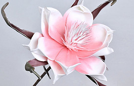 Blume Schaumstoff Rosa