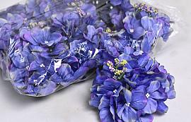 Hortensia Kop D14cm Blauw/Paars