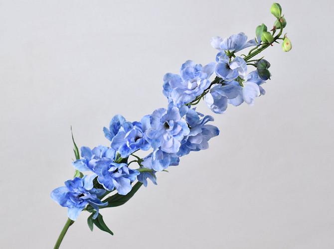 Delphinium Spray Blue 91cm