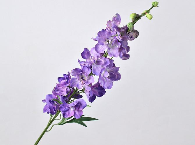 Delphinium Spray Purple 91cm