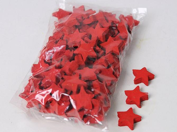 Noix de Coco Etoile Rouge 3cm 100pcs